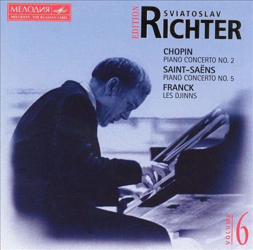 Chopin: Piano Concert No.2; Saint-Saëns: Piano Concerto No.5; Franck: Les Djinns