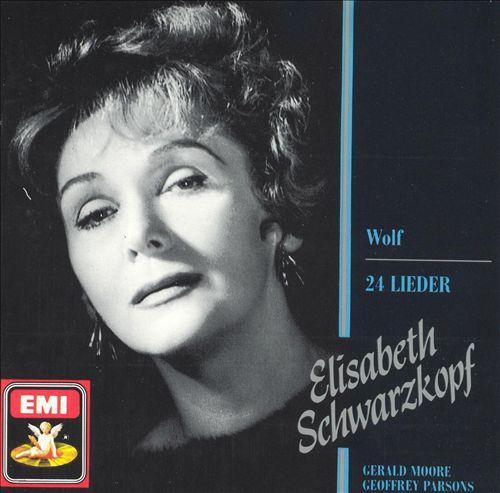 Wolf: 24 Lieder
