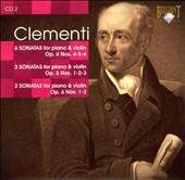 Clementi: Sonatas for Piano & Violin, Op. 4 Nos. 4-6, Op. 5 Nos.  1-3 & Op. 6 Nos. 1-2