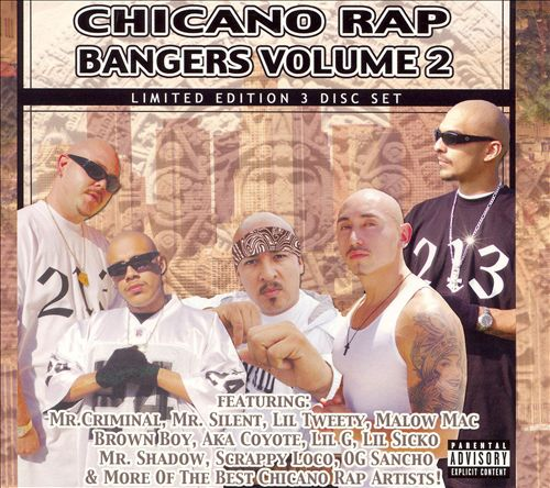 Chicano Rap Bangers, Vol. 2
