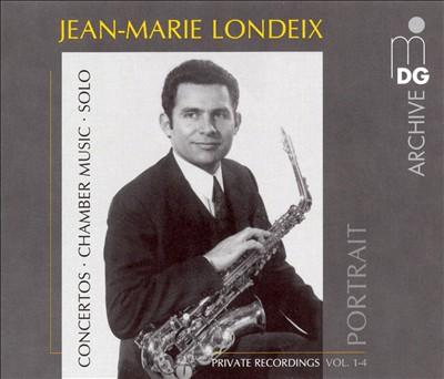 Jean-Marie Londeix Portrait, Private Recordings Vol. 1-4