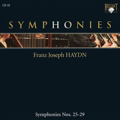 Franz Joseph Haydn: Symphonies Nos. 25-29