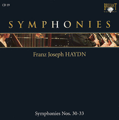 Franz Joseph Haydn: Symphonies Nos. 30-33