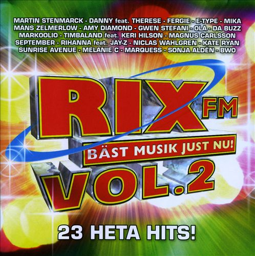 Rix FM: Bäst Musik Just Nu! Vol. 2