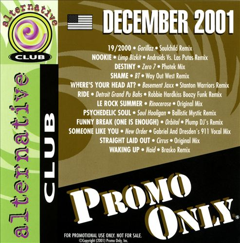 Promo Only: Alternative Club (December 2001)