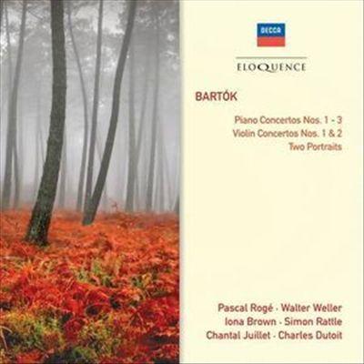 Bartók: Piano Concertos Nos. 1-3; Violin Concertos Nos. 1 & 2