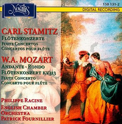 Carl Stamitz: Flötenkonzerte; W.A. Mozart: Andante; Rondo; Flötenkonzert KV 313