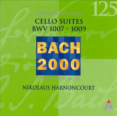 Bach: Cello Suites, BWV 1007-1009