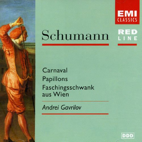 Schumann: Carnaval Op.9; Papillons Op.2; Faschingsschwank Aus Wien Op.26 [Australia]