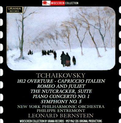 Tchaikovsky: 1812 Overture; Capriccio Italien; Romeo and Juliet; The Nutcracker Suite; Piano Concerto No. 1; Symphony No. 5