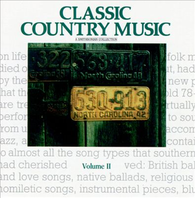 Smithsonian Collection of Classic Country Music, Vol. 2