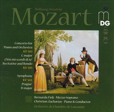"Mozart: Concerto for Piano, KV503; Ch'io mi scordi di te, KV505; ""Prague"" Symphony, KV504"