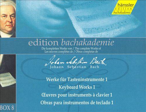 Bach: Keyboard Works 1, Box 8 [Box Set]