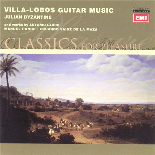 Villa-Lobos Guitar Music
