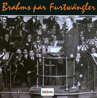 Brahms par Furtwängler
