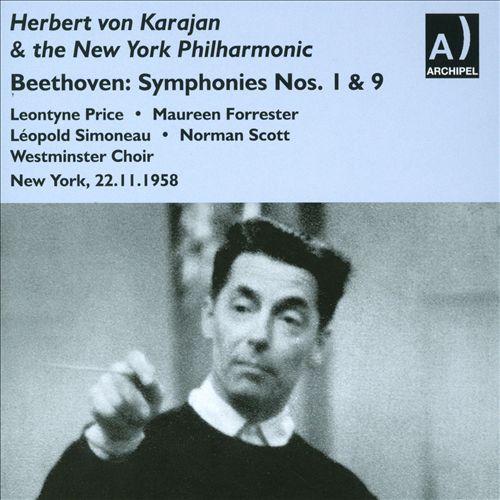 Beethoven: Symphonies Nos. 1, 9