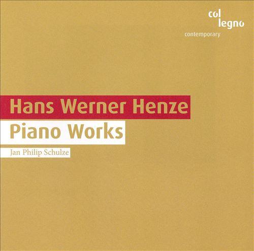 Hans Werner Henze: Piano Works