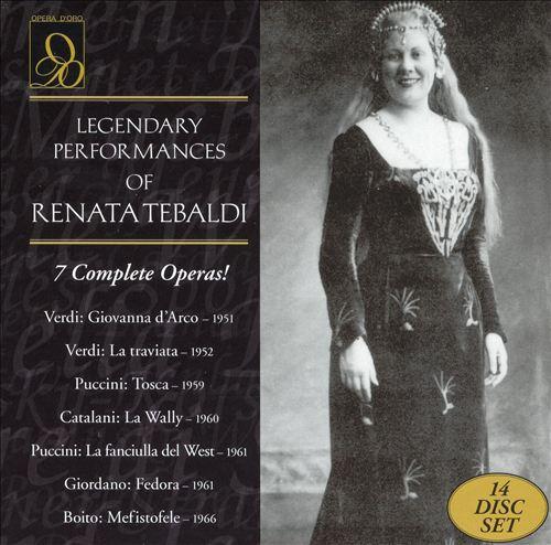 Legendary Performances of Renata Tebaldi [Box Set]