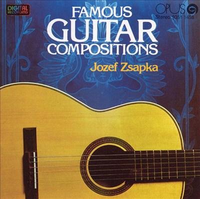 Famous Guitar Compositions