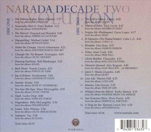 Narada Decade, Vol. 2: Evolution 1992-2001