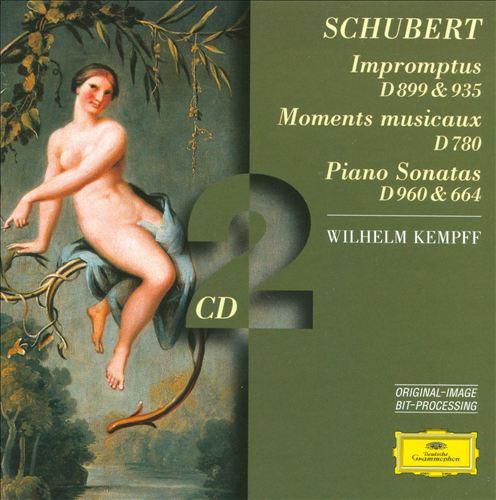 Schubert: Impromptus; Moments musicaux; Piano Sonatas