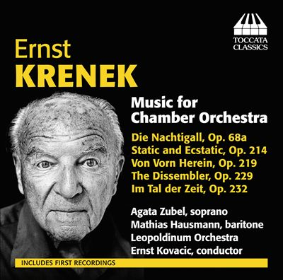 Ernst Krenek: Music for Chamber Orchestra