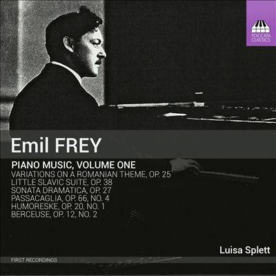 Emil Frey: Piano Music, Vol. 1
