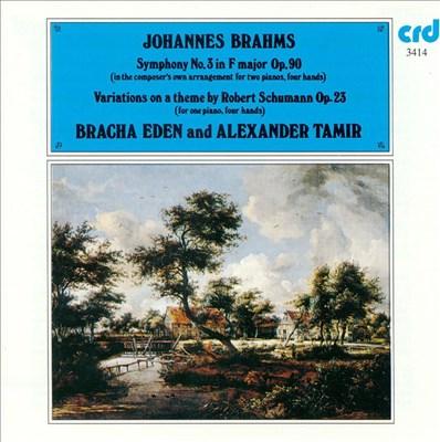 Brahms: Symphony No. 3; Schumann-Variations