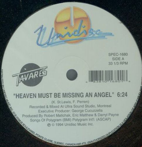 Heaven Must Be Missi/More Than a Woman