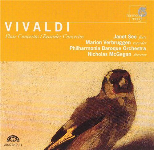 Vivaldi: Flute Concetos; Recorder Concertos