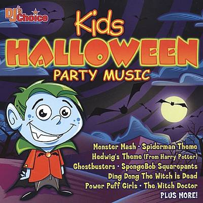 DJ's Choice: Kids Halloween Party Music