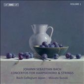 Johann Sebastian Bach: Concertos for Harpsichord & Strings, Vol. 1