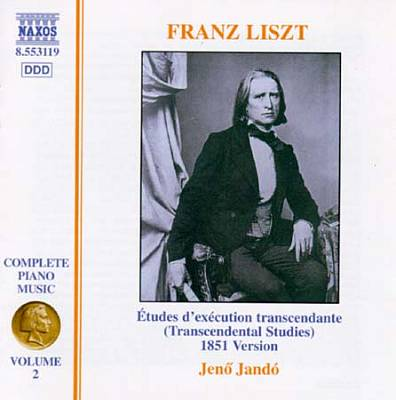 Franz Liszt: Études d'exécution transcendante 1851 version