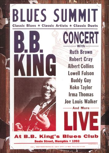 Blues Summit Concert [Video/DVD]