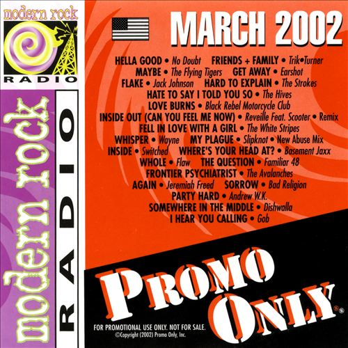 Promo Only: Modern Rock (March 2002)