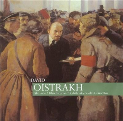 Glazunov, Khachaturian, Kabalevsky: Violin Concertos