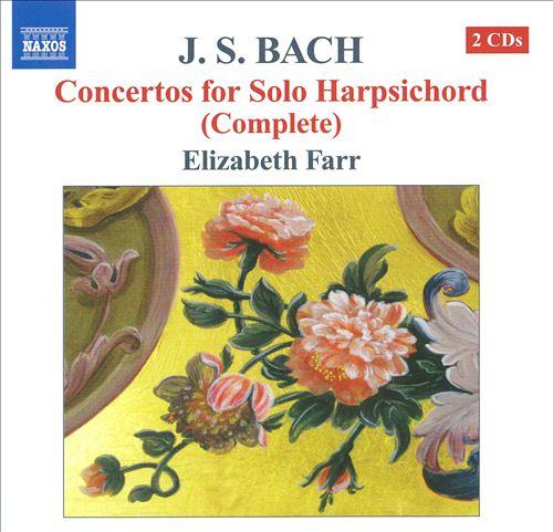 JS Bach: Concertos for Solo Harpsichord