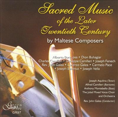 Sacred Music of the Later Twentieth Century