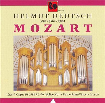 Helmut Deutsch plays Mozart