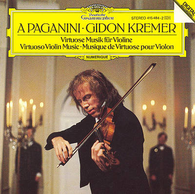 Paganini: Virtuoso Violin Music
