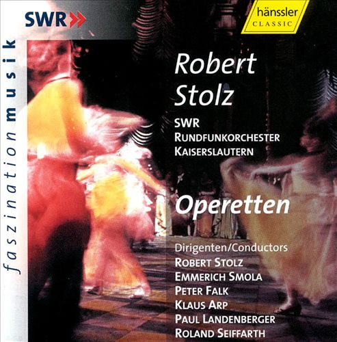 Robert Stolz: Operetten