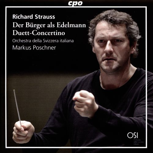 Richard Strauss: Der Bürger als Edelmann; Duett-Concertino