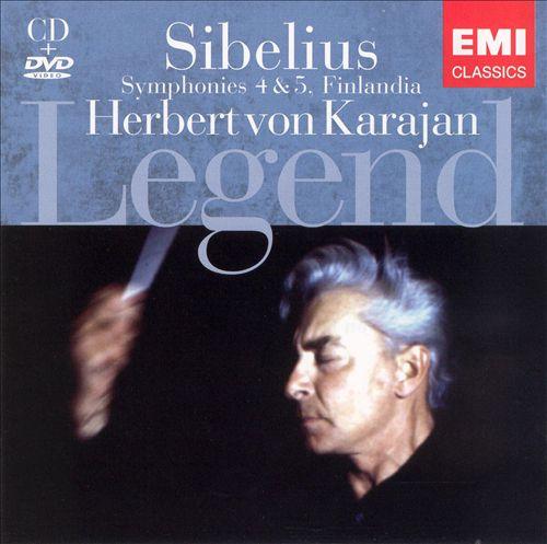 Sibelius: Finlandia; Symphonies Nos. 4 & 5