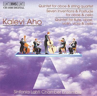 Kalevi Aho: Quintets; Seven Inventions and Postlude