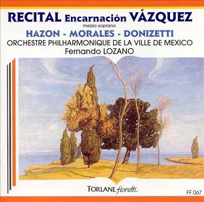 Encarnación Vázquez: Recital
