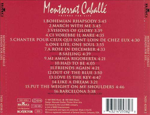 Montserrat Caballé: Friends for Life