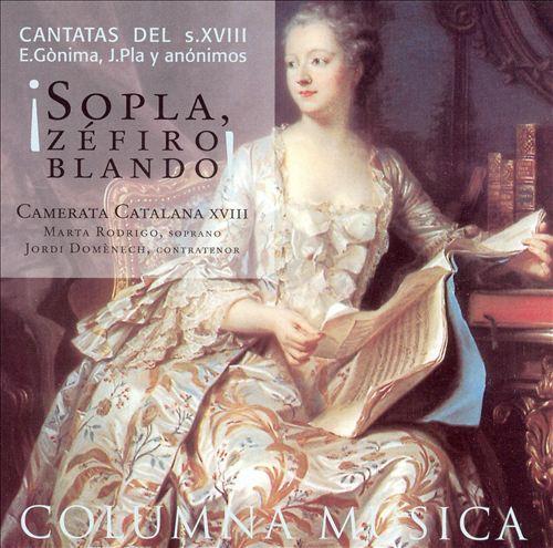 Sopla, Zéfiro Blando! Cantatas del s. XVIII
