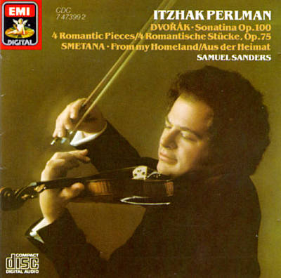Dvorák: Sonatina; 4 Romantic Pieces; Smetana: From my Homeland