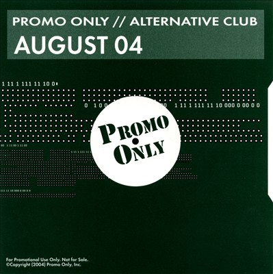 Promo Only: Alternative Club (August 2004)