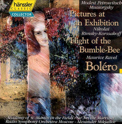 Modest Mussorgsky: Pictures at an Exhibition; Nikolay Rimsky-Korsakov: Flight of the Bumble-Bee; Ravel: Boléro